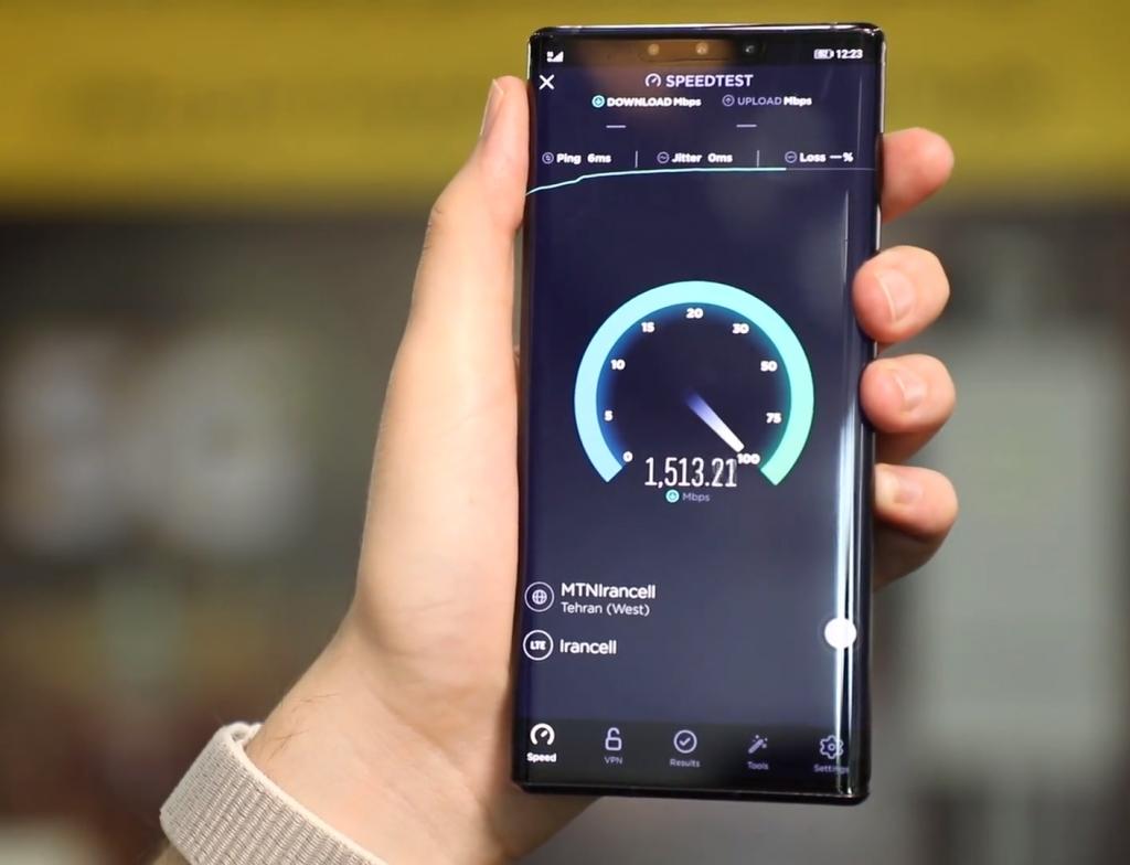 آزمایش 5G در ساختمان ایرانسل؛ سفر به آینده - شرکت فنآوران رایانه کیامهر